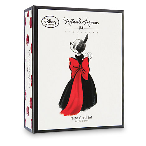 Minnie Mouse Designer Note Cards Set
