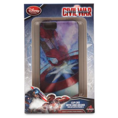 Pochette à clip pour téléphone portable Captain America Civil War