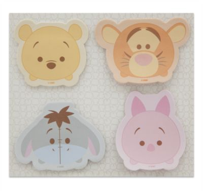 Notas adhesivas Winnie the Pooh y amigos Tsum Tsum