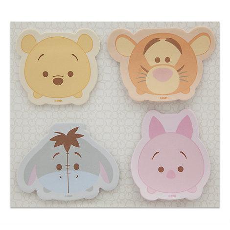 Winnie the Pooh Tsum Tsum Sticky Notes, Set of 4