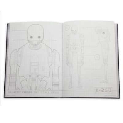 Cahier A5 et trousse K-2SO, Rogue One: A Star Wars Story