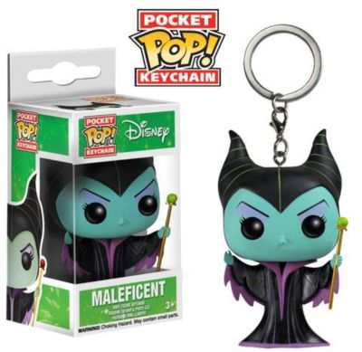 Maleficent Pop! Vinyl Key Ring