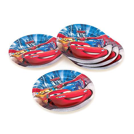 Lot de 8 assiettes de fête Disney Pixar Cars