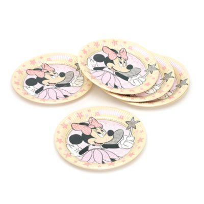 Minnie Maus - 8 x Fee Pappteller