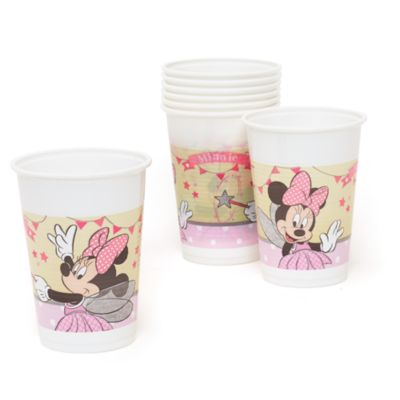 Minnie Mouse 8x Fairy Party Cup Set