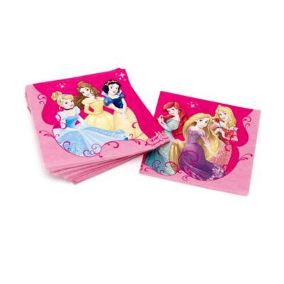 Lot de 20 serviettes de fête Princesses Disney