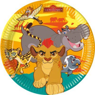 Die Garde der Löwen - 8 x Pappteller