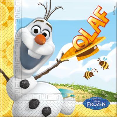 Servilletas fiesta Olaf (20 u.)