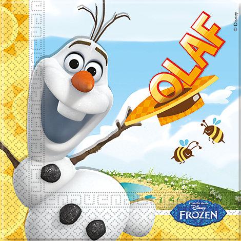 20 serviettes de fête Olaf