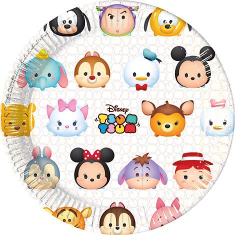 Disney Tsum Tsum - 8 x Pappteller