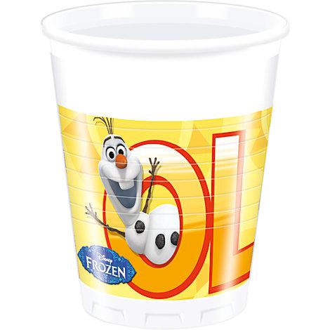 Vasos fiesta Olaf (8 u.)