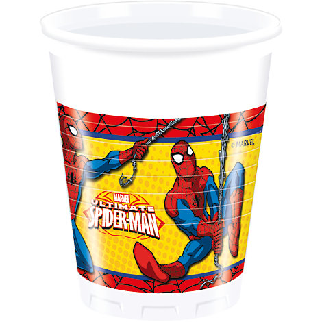 Spider-Man Party Cups, Set of 8