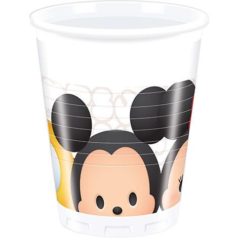 Tsum Tsum, 8 bicchieri di plastica