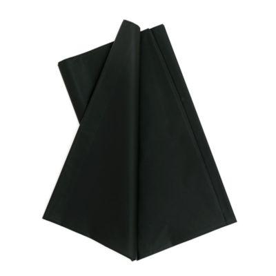 Partytischdecke schwarz