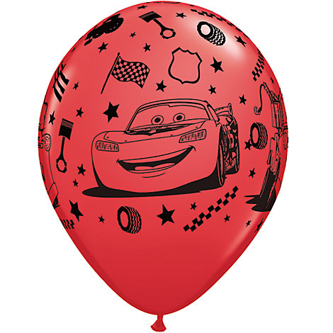 Disney Pixar Cars, 6 palloncini gonfiabili