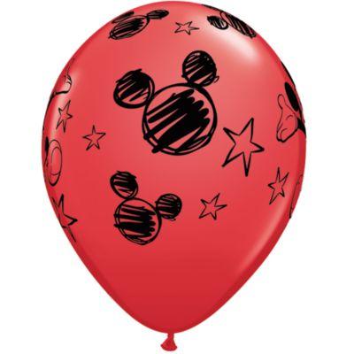 Globos Mickey (6 u.)