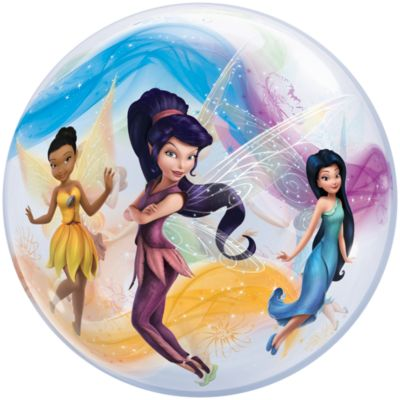 Disney Feen - Ballon in Seifenblasenoptik