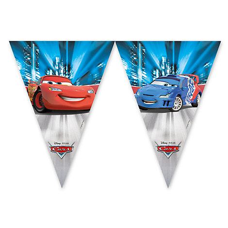Cartel banderines Disney Pixar Cars