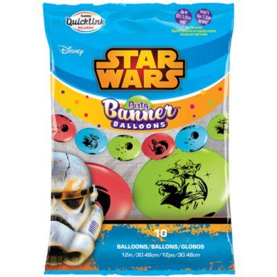 Pancarta globos fiesta Star Wars