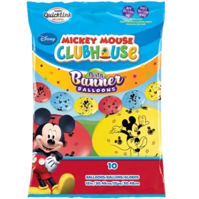 Mickey Mouse Party Balloon Banner
