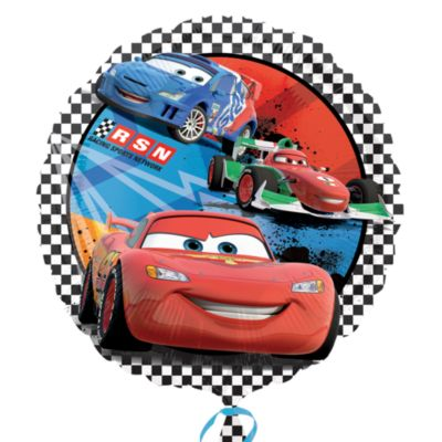 Globo brillante Disney Pixar Cars