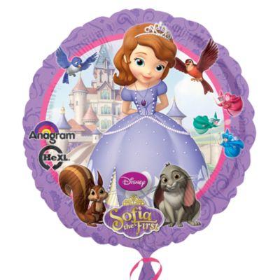 Ballon métallisé Princesse Sofia