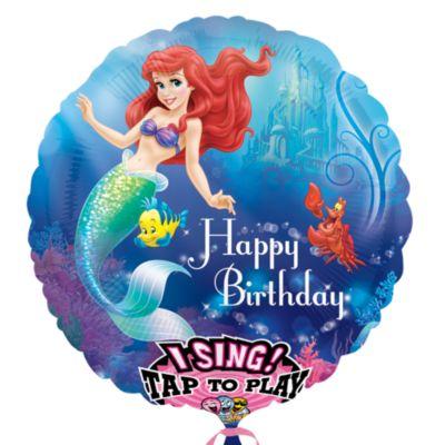 The Little Mermaid Singing Balloon