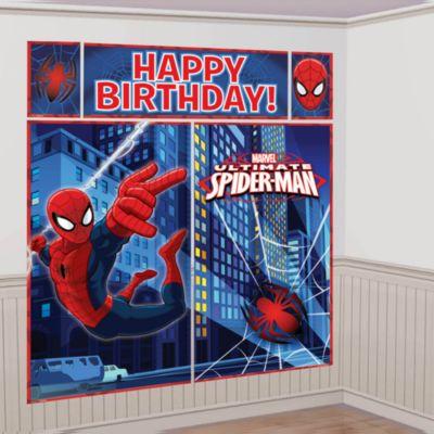 Decoraci¢n de escena fiesta Spider-Man