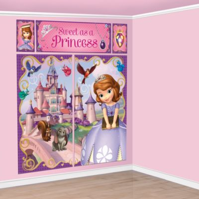Sofia la Principessa, scenografia per festa a tema