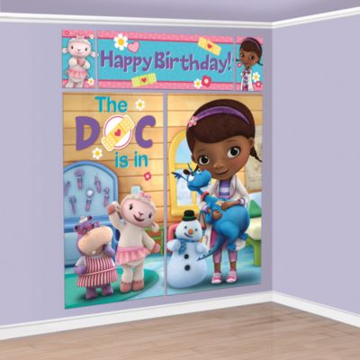 Doc McStuffins Party Scene Setter