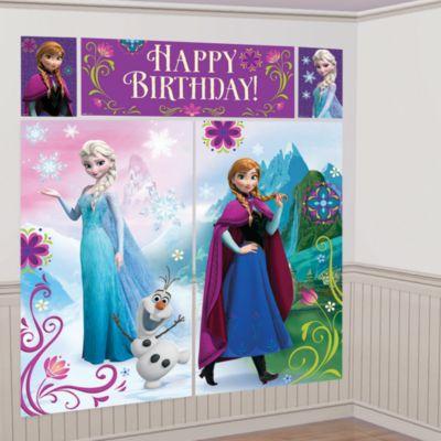 Frozen – Il Regno di Ghiaccio, scenografia per festa