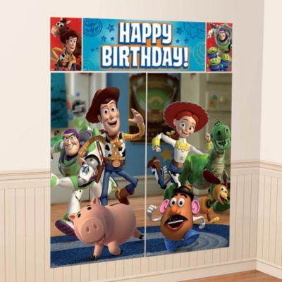 Decorado mural fiesta Toy Story