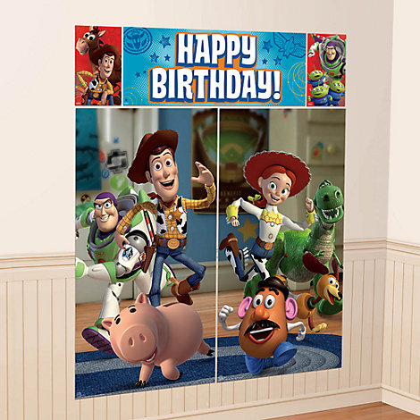 Toy Story, scenografia per festa a tema