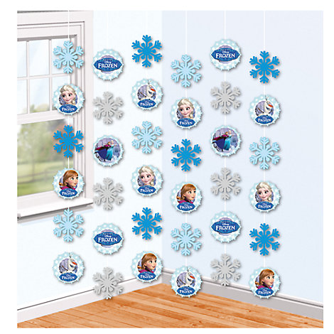 Frozen 6x Party String Decorations