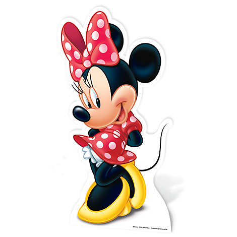 Minnie Mouse Character Cut Out