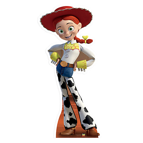 Jessie Character Cut Out, Toy Story