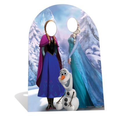 Frozen Stand In Character Cut Out