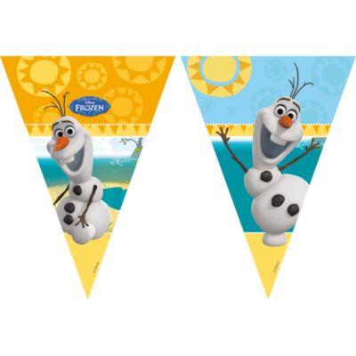 Olaf, festone con bandierine