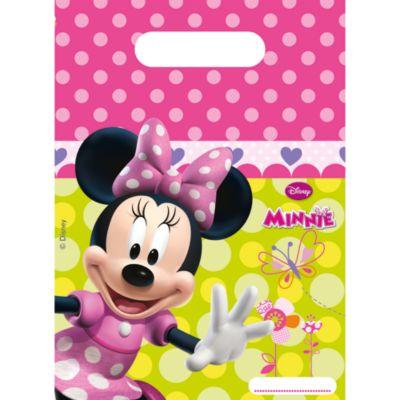 Lot de 6 sachets cadeaux Minnie Mouse