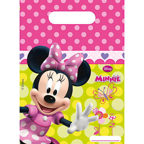 Bolsas fiesta Minnie (6 u.)