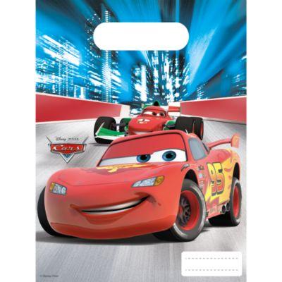 Lot de 6 sachets cadeaux Disney Pixar Cars