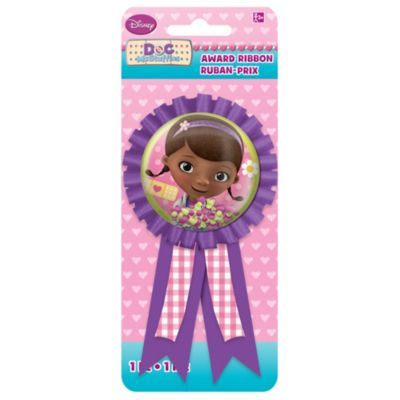 Doc McStuffins Award Ribbon