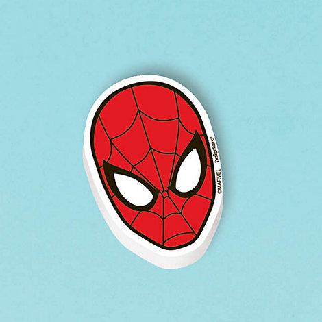 Lot de 12 gommes Spider-Man