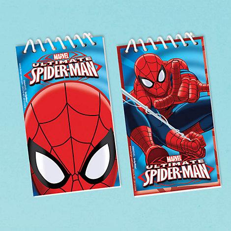 Lot de 12 blocs-notes Spider-Man