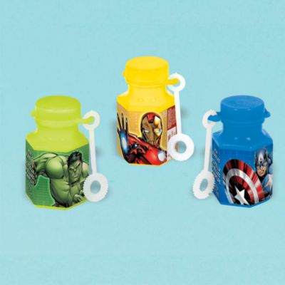 The Avengers - 12 x Seifenblasenflaschen mini