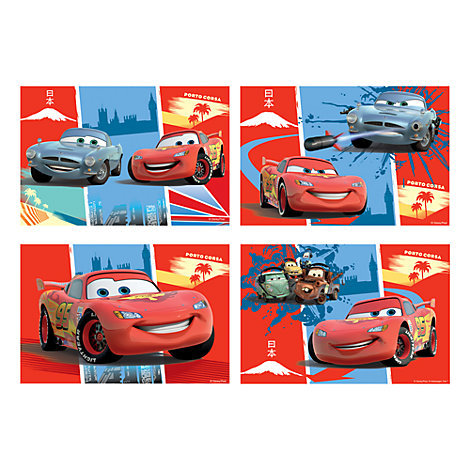 Disney Pixar Cars 4x Jigsaws