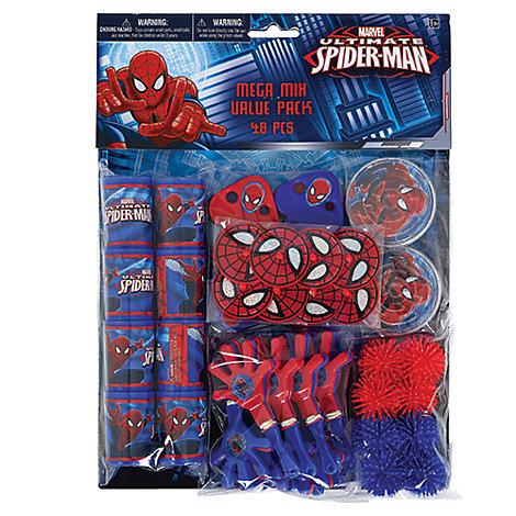 Lot de 48 accessoires de fête Spider-Man