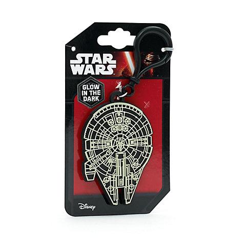Portachiavi da borsa con nome Millennium Falcon, Star Wars
