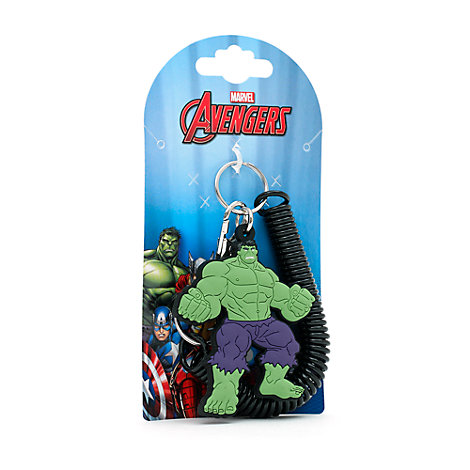 Porte-clés spirale Hulk