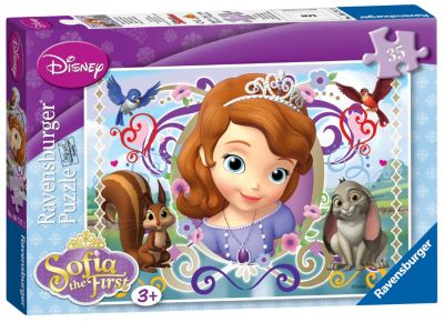 Sofia The First 35 Piece Puzzle